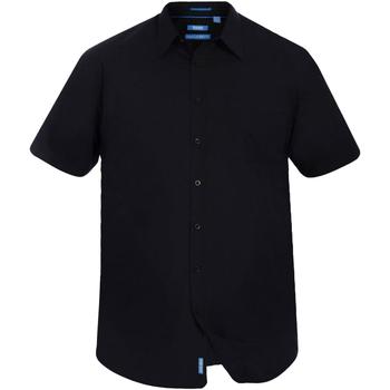 vaatteet Miehet Lyhythihainen paitapusero Duke  Black
