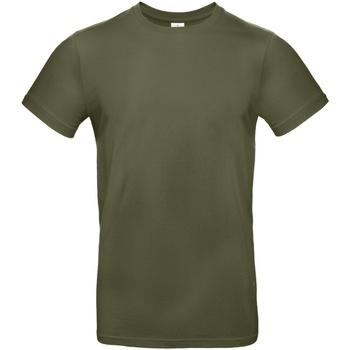 vaatteet Miehet Lyhythihainen t-paita B And C TU03T Urban Khaki