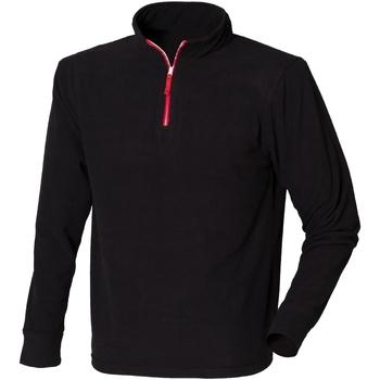 vaatteet Miehet Fleecet Finden & Hales LV570 Black/Red