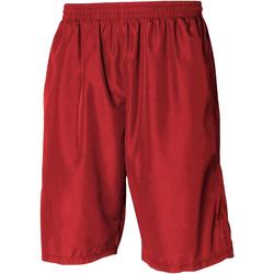 vaatteet Miehet Shortsit / Bermuda-shortsit Tombo Teamsport Longline Red / Red