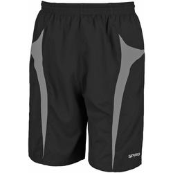 vaatteet Miehet Shortsit / Bermuda-shortsit Spiro S184X Black/Grey