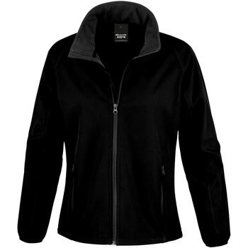 vaatteet Naiset Fleecet Result R231F Black / Black