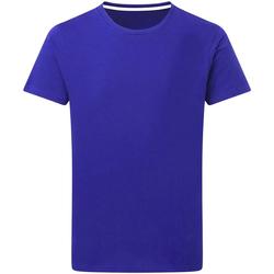vaatteet Miehet Lyhythihainen t-paita Sg Perfect Royal Blue