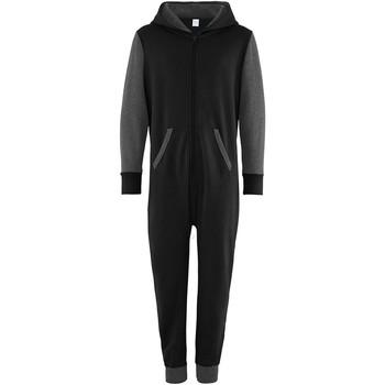 vaatteet Lapset Jumpsuits / Haalarit Comfy Co CC03J Black/Charcoal