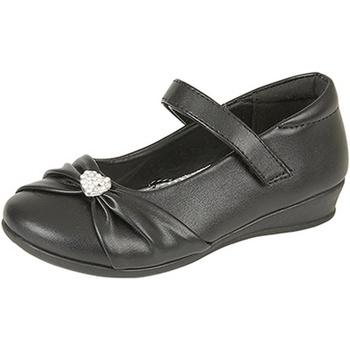 kengät Tytöt Balleriinat Us Brass  Black Matt