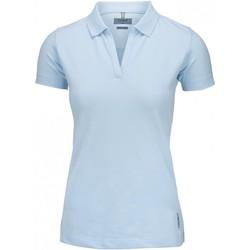 vaatteet Naiset Lyhythihainen poolopaita Nimbus Harvard Sky Blue