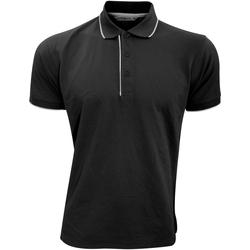 vaatteet Miehet Lyhythihainen poolopaita Kustom Kit Essential Black/White