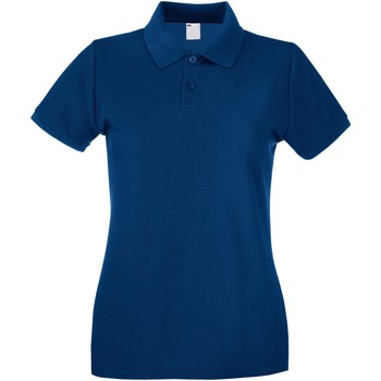 vaatteet Naiset Lyhythihainen poolopaita Universal Textiles 63030 Navy Blue