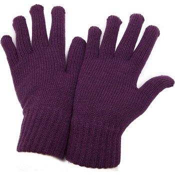 Asusteet / tarvikkeet Naiset Hanskat Universal Textiles  Burgundy