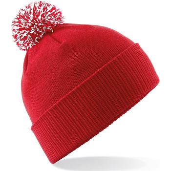 Asusteet / tarvikkeet Tytöt Pipot Beechfield Snowstar Classic Red/White