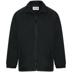 vaatteet Miehet Fleecet Absolute Apparel  Black Opal