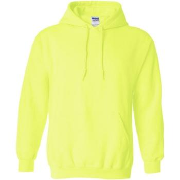 vaatteet Svetari Gildan 18500 Safety Green