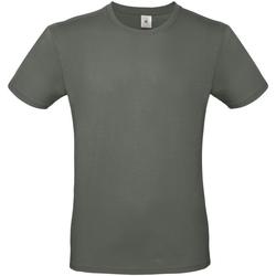 vaatteet Miehet Lyhythihainen t-paita B And C TU01T Millennial Khaki