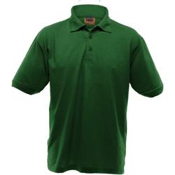 vaatteet Miehet Lyhythihainen poolopaita Ultimate Clothing Collection UCC004 Bottle Green