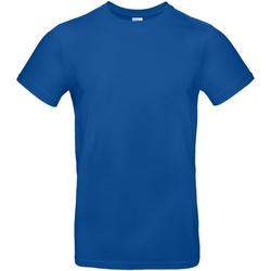 vaatteet Miehet Lyhythihainen t-paita B And C TU03T Royal Blue