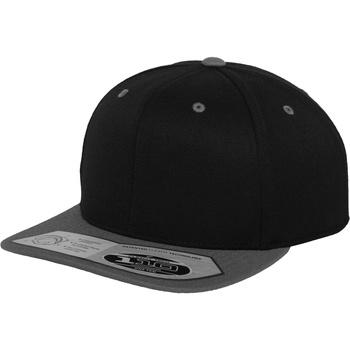 Asusteet / tarvikkeet Lippalakit Yupoong 110 Black/ Grey
