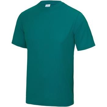 vaatteet Miehet Lyhythihainen t-paita Awdis JC001 Jade