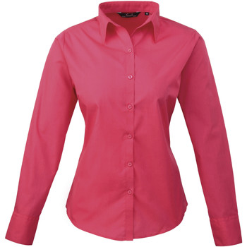 vaatteet Naiset Paitapusero / Kauluspaita Premier PR300 Hot Pink