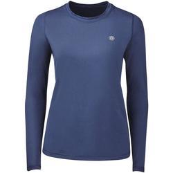 vaatteet Naiset T-paidat pitkillä hihoilla Dublin Pearl Navy