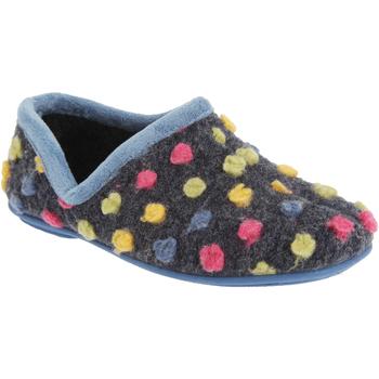 kengät Naiset Tossut Sleepers  Light Blue/Multi