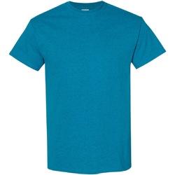 vaatteet Miehet Lyhythihainen t-paita Gildan Heavy Antique Sapphire