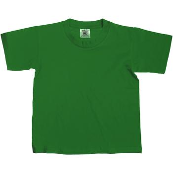 vaatteet Lapset Lyhythihainen t-paita B And C TK300 Bottle Green