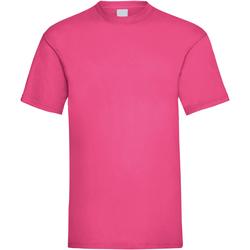 vaatteet Miehet Lyhythihainen t-paita Universal Textiles 61036 Hot Pink