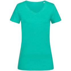 vaatteet Naiset Lyhythihainen t-paita Stedman Stars  Bahama Green