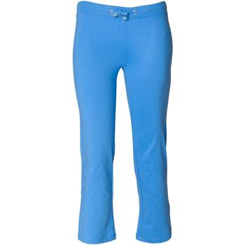 vaatteet Tytöt Verryttelyhousut Skinni Fit Boot Cut Bright Blue