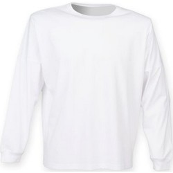 vaatteet Svetari Skinni Fit SF514 White