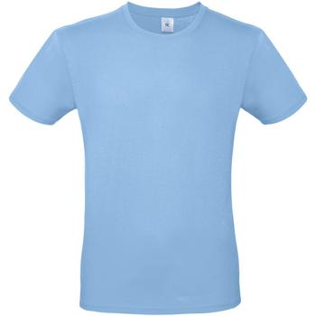 vaatteet Miehet Lyhythihainen t-paita B And C TU01T Sky Blue