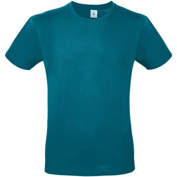 vaatteet Miehet Lyhythihainen t-paita B And C TU01T Diva Blue
