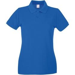 vaatteet Naiset Lyhythihainen poolopaita Universal Textiles 63030 Cobalt