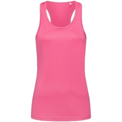 vaatteet Naiset Hihattomat paidat / Hihattomat t-paidat Stedman  Sweet Pink