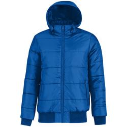 vaatteet Miehet Toppatakki B And C Bomber Royal Blue/ Neon Orange