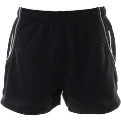 vaatteet Miehet Shortsit / Bermuda-shortsit Gamegear KK924 Black / White