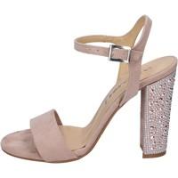 kengät Naiset Sandaalit ja avokkaat Olga Rubini sandali camoscio sintetico strass Rosa