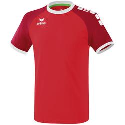 vaatteet Miehet Lyhythihainen t-paita Erima Maillot  Zenari 3.0 rouge/blanc