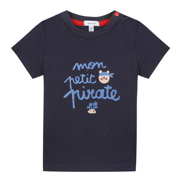 vaatteet Pojat Lyhythihainen t-paita Absorba NADINE Laivastonsininen