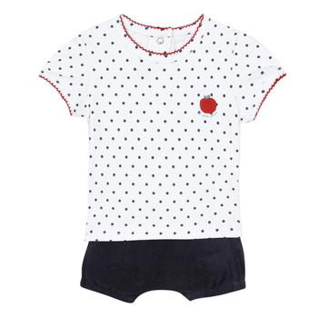 vaatteet Tytöt Kokonaisuus Absorba ADELE Laivastonsininen