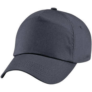Asusteet / tarvikkeet Lapset Lippalakit Beechfield BC10B Graphite Grey