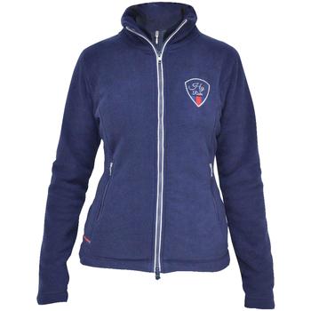 vaatteet Naiset Fleecet Hyrider  Marine Blue/Red