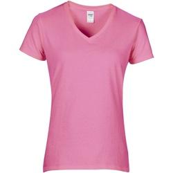 vaatteet Naiset Lyhythihainen t-paita Gildan GD015 Azalea