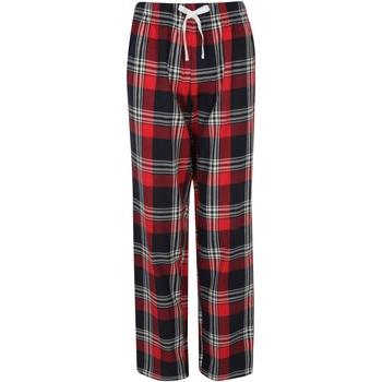 vaatteet Naiset pyjamat / yöpaidat Skinni Fit Tartan Red/Navy Check
