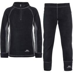 vaatteet Lapset Verryttelypuvut Trespass  Black