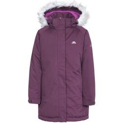 vaatteet Tytöt Parkatakki Trespass Fame Potent Purple