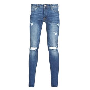 vaatteet Miehet Slim-farkut Jack & Jones JJITOM Blue