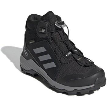 kengät Lapset Talvisaappaat adidas Originals Terrex Mid Gtx Mustat