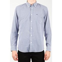 vaatteet Miehet Pitkähihainen paitapusero Wrangler 1 PKT Shirt W5929M8DF blue, white