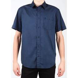 vaatteet Miehet Lyhythihainen paitapusero Wrangler S/S 1PT Shirt W58916S35 navy